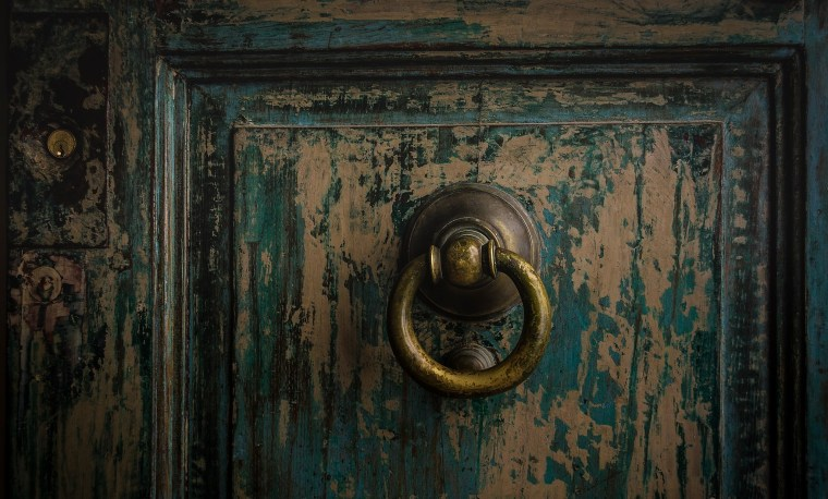 From a series of door knockers by Mario Mifsud