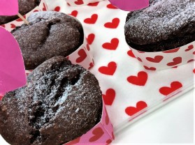 Beetroot chocolate muffins 5