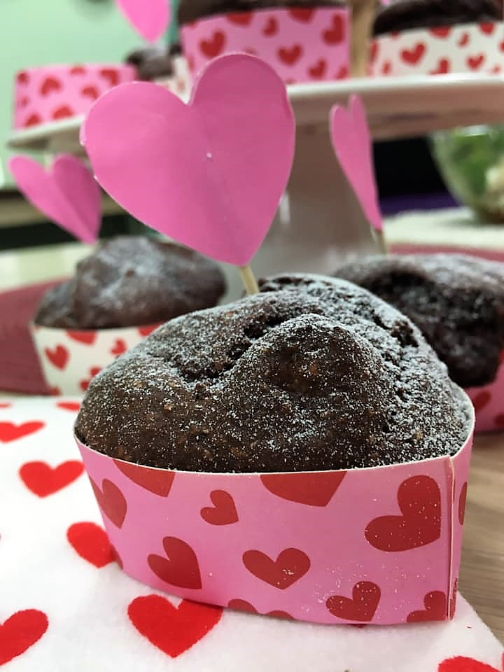 beetroot chocolate muffins 1