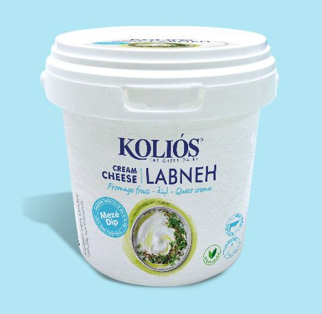I use labneh by Kolios