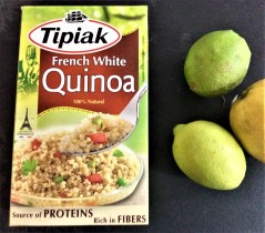 I use French White Quinoa by Tipiak