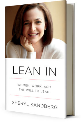 Cover of Sheryl Sandberg's book Lean In