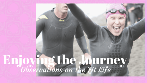 Triathlon image header for blog Enjoying the Journey by Leah Nyfeler
