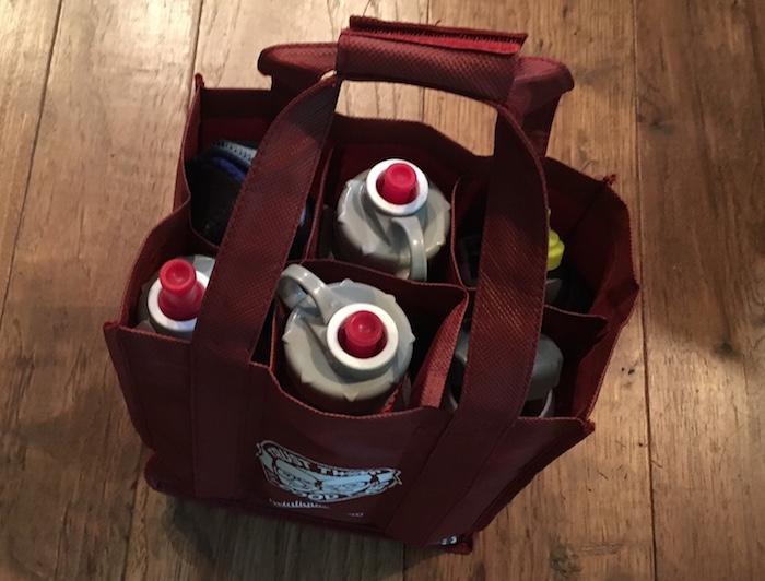 Water Bottle Organization