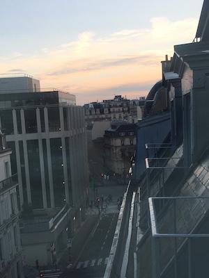 Paris Marathon Start