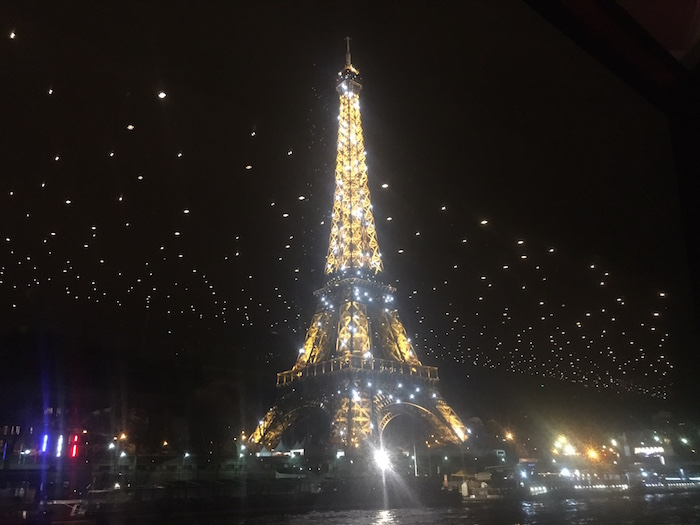 Sparkly Eiffel Tower