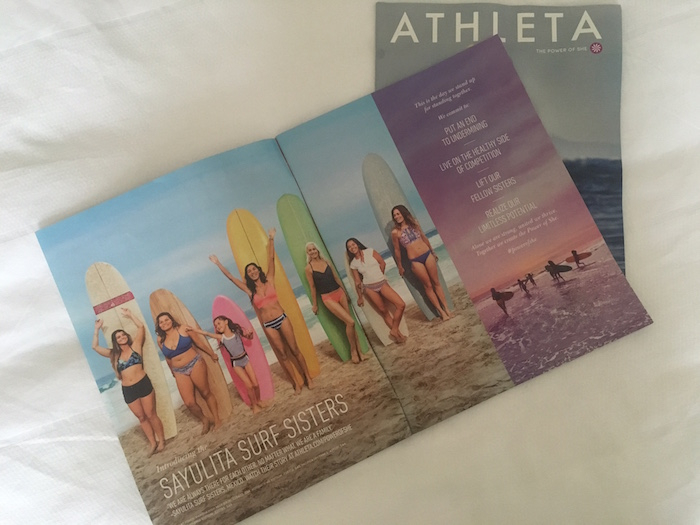 Athleta Sayulita Surf Sisters Spread