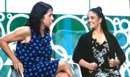 Donna Orender Laurie Hernandez BlogHer 2017
