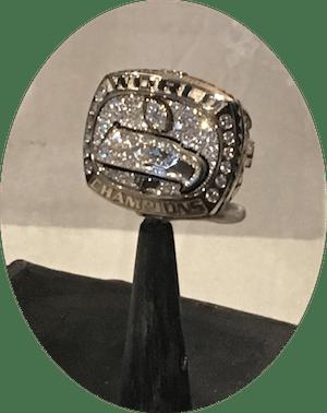 Seattle Seahawks Super Bowl Ring Enjoying The Journey
