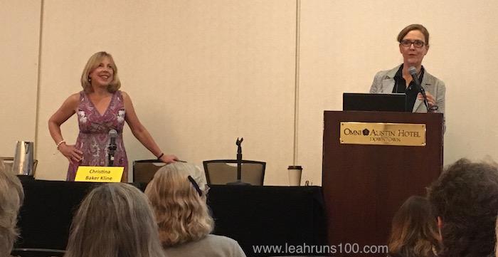 Sarah Bird introduces Christina Baker Kline at Texas Book Festival 2017