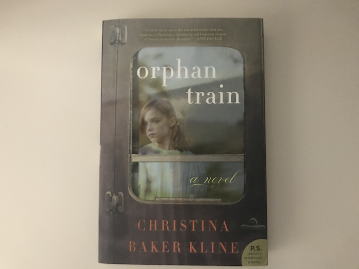 "Historical fiction by Christina Baker Kline, ""Orphan Train"""
