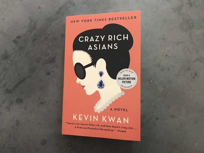 Cover of Crazy Rich Asians by Kevin Kwan