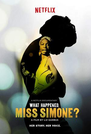movie poster What Happened Miss Simone 2015