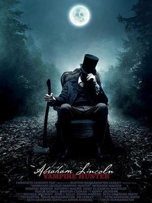 movie poster Abraham Lincoln Vampire Hunter 2012