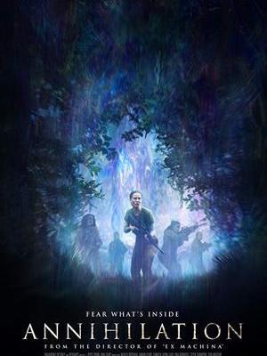 movie poster Annihilation 2018