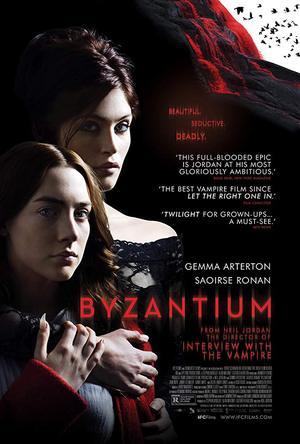 movie poster Byzantium 2012