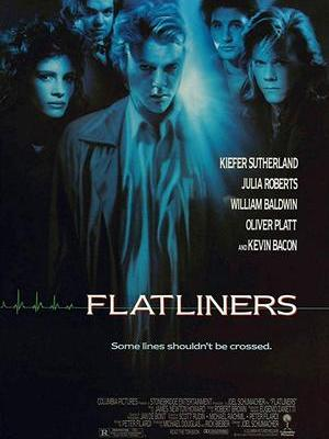 movie poster Flatliners 1990