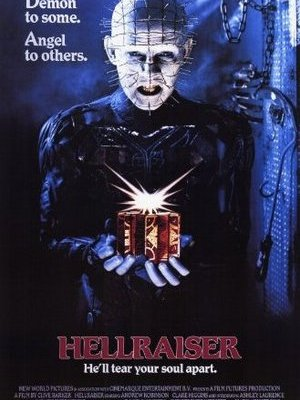 movie poster Hellraiser 1987
