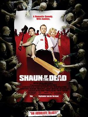movie poster Shaun of the Dead 2004