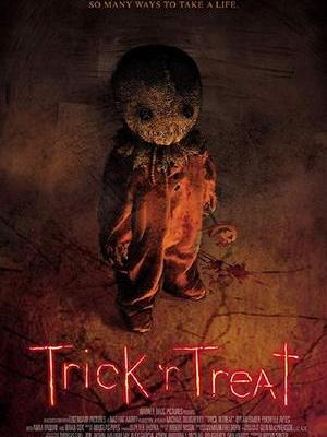 movie poster Trick r Treat 2007