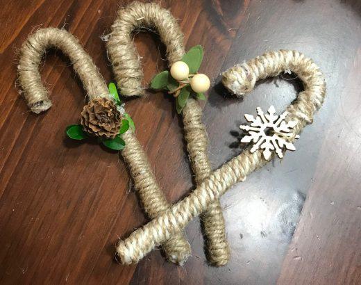 dollar tree ornament