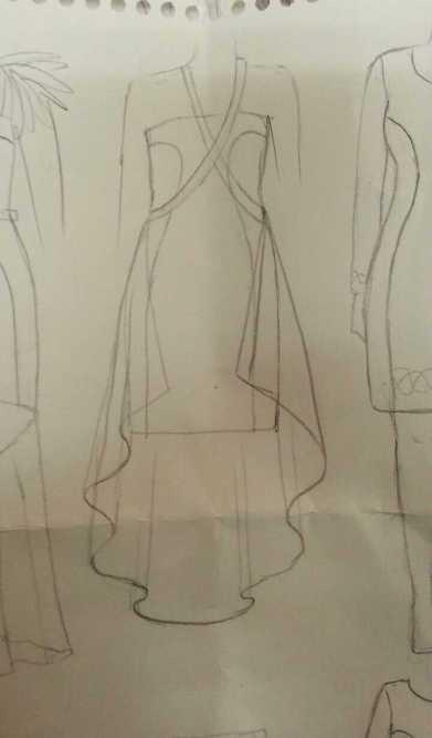 Rough sketch of new design