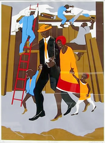 The Visual Blues of Jacob Lawrence presented by The Gibbes Museum of Art - Charleston, SC