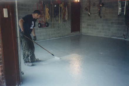 Polyurethane Garage Floor Coating