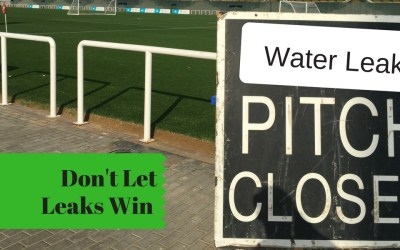 Parks and Football Pitches – Prevent Water Logging and Water Leaks