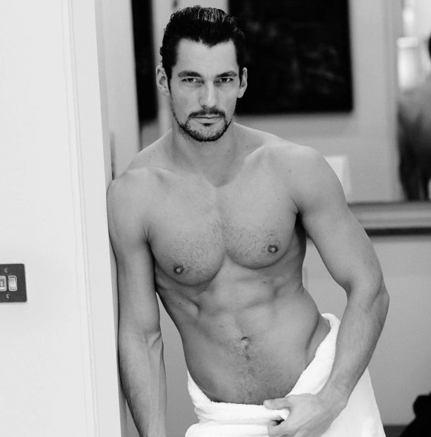 Watch Online    David Gandy Naked — The World Famous Male Model Exposed