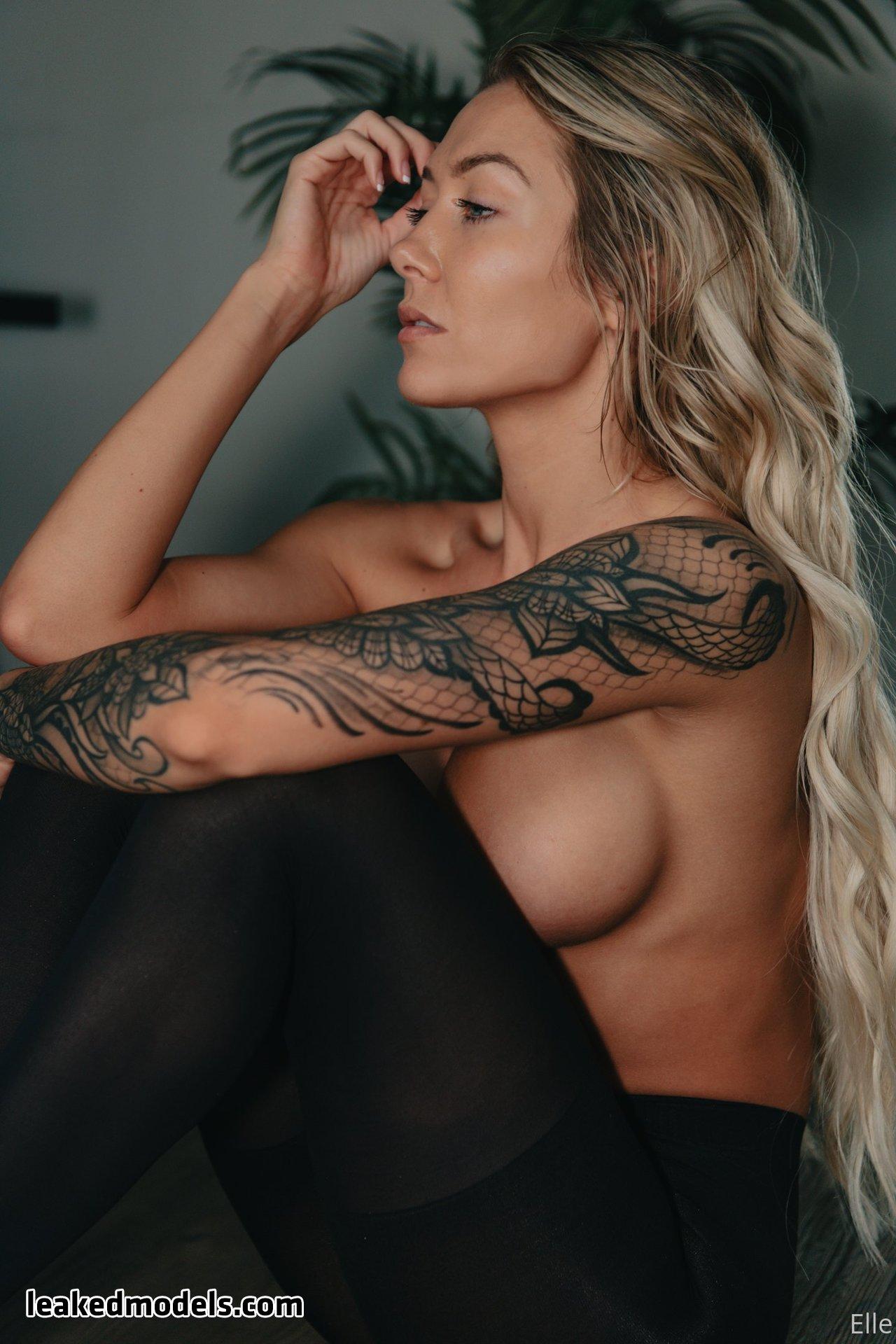 ellebelle1 leaked nude leakedmodels.com 0040 - Elle – ellebelle1 OnlyFans Nude Leaks (40 Photos)