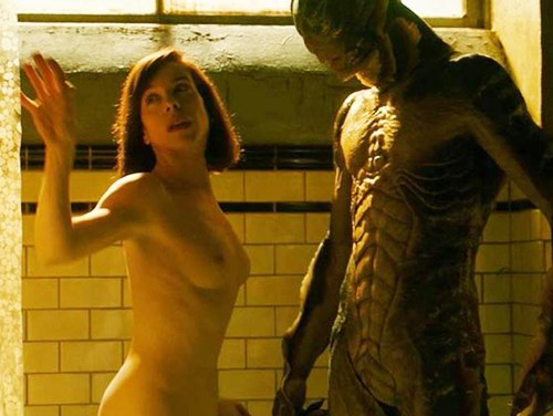 Watch Online Latest Sally Hawkins Nude Bush & Tits In Scene From 'The Shape of Water' Movie