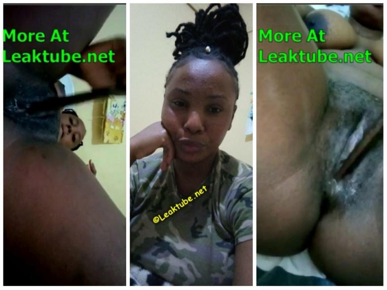 Exposed- Horny Military Lady 4minutes Masturbation Video (PART 3) leak