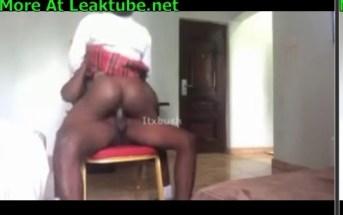 Nigeria Popular Naija Pornstar itxbush Fucking SS3 School Girl Leak