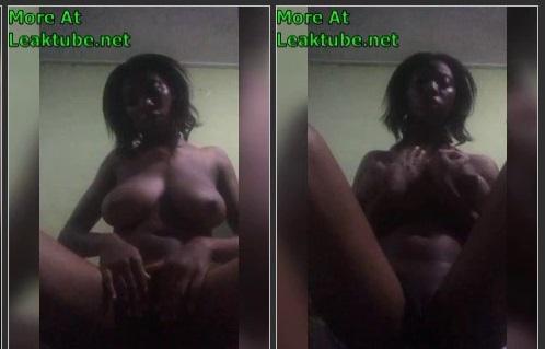 Ghana Facebook Girl Hannah Kusi From Brong Ahafo Naked Video Part 1 Leaktube.net