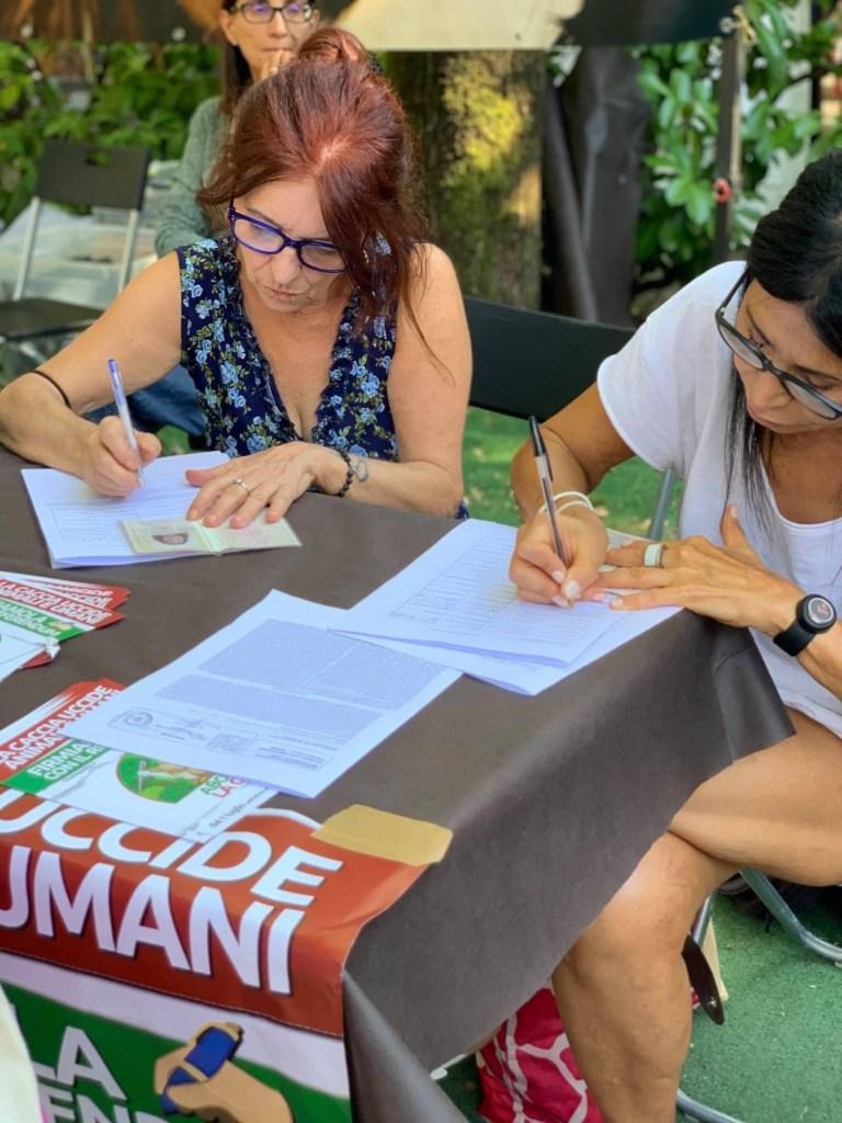 LEAL DI COMITATO SÌ ABOLIAMO LA CACCIA AL viva las vegas festival