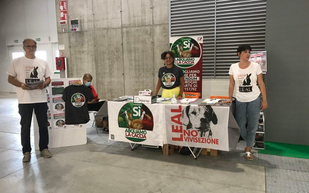 LEAL a Bologna per l'abolizione della vivisezione e della caccia