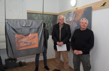 Bonaventura Monfalcone-05.03.2017 Inaugurazione mostra Salvatore Puddu-Ronchi dei Legionari-foto di Katia Bonaventura