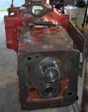 Center housing Torque amplifier rebuild service IH Farmall