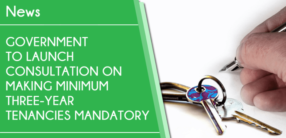 URGENT ACTION REQUIRED – Government Consultation on Longer Tenancies