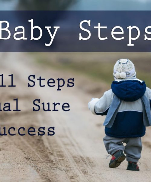 Baby Step Your Way to Successful Transformation