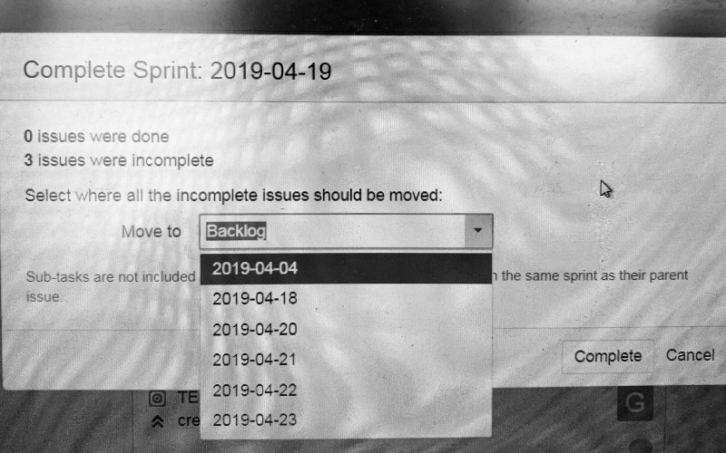A Story Wasn't 'Done' At Sprint's End…Now what?