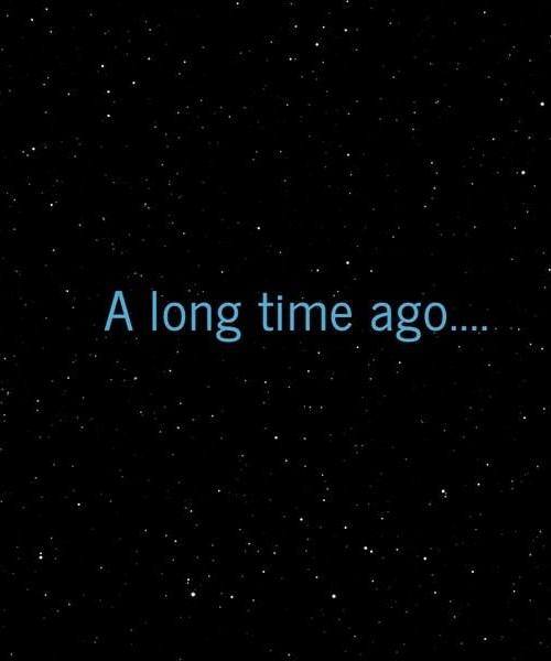 A Long Time Ago, Part IV