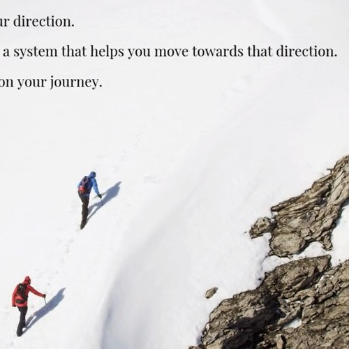 Two Types of People, Both Must Focus on Their Journey