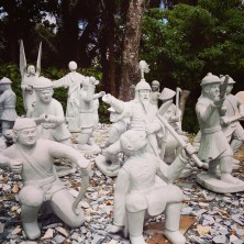 Marble sculptures in Romblon.