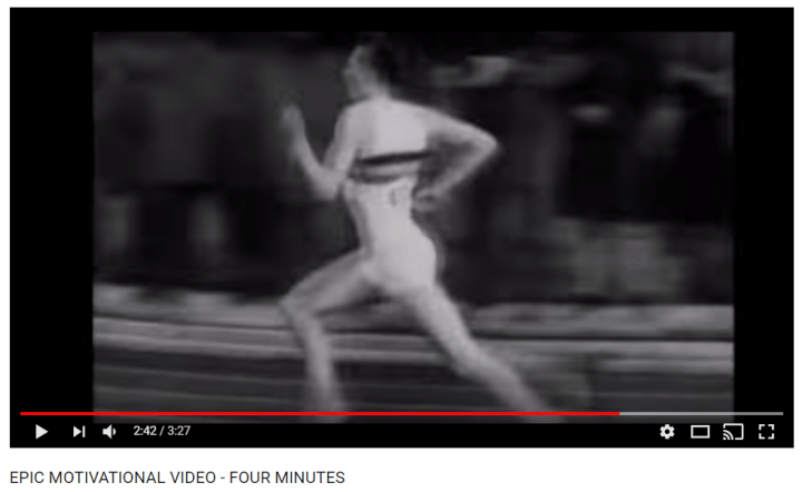4-minute mile video roger bannister