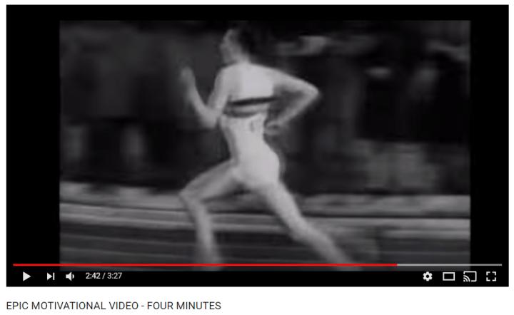 4-minute mile video roger bannister