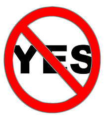Image result for stop saying yes