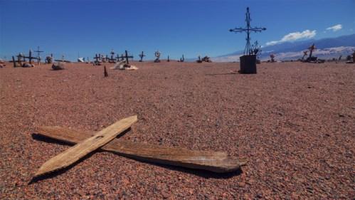 Cementerio y cruces