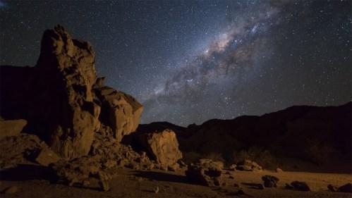 Vía Láctea y formaciones
